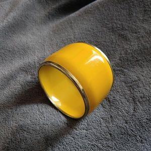 Jewelry - Wide Yellow Bracelet